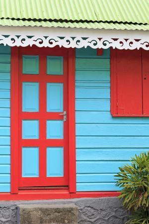 Colorful Architecture in Roseau