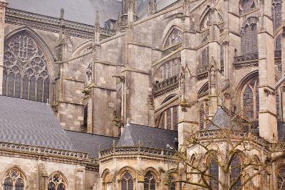 Flying Buttresses on St.-Julien Du Mans Cathedral