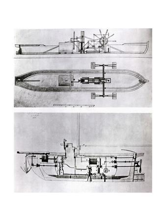 Steamboat and Submarine Plans