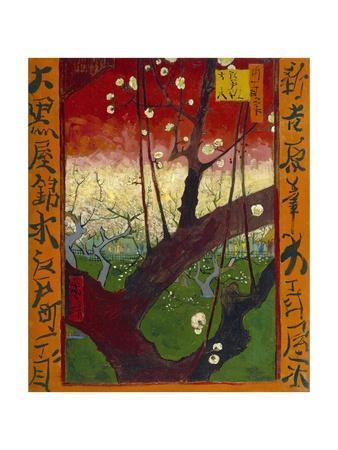 Flowering Plum Tree (After Hiroshige)
