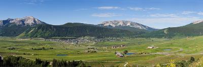 Mountain Range, Crested Butte, Gunnison County, Colorado, USA
