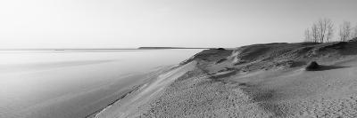 Sand Dunes at the Lakeside, Sleeping Bear Dunes National Lakeshore, Lake Michigan, Michigan, USA
