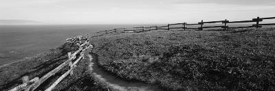 Rail Fence at the Coast, Point Reyes, California, USA