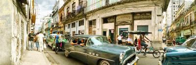 Old Cars on a Street, Havana, Cuba