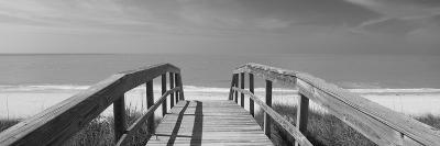 Boardwalk on the Beach, Gasparilla Island, Florida, USA