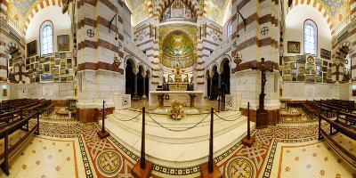 Interiors of the Basilica, Notre Dame De La Garde, Marseille, Bouches-Du-Rhone