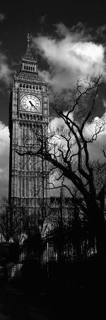 Low Angle View of Big Ben, London, England, United Kingdom