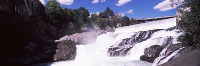 Spokane Falls at Spokane River, Spokane, Washington State, USA