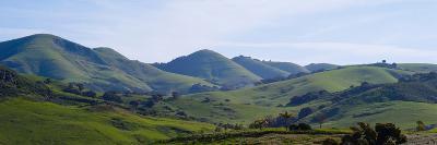 High Angle View of a Valley, Edna Valley, San Luis Obispo County, California, USA