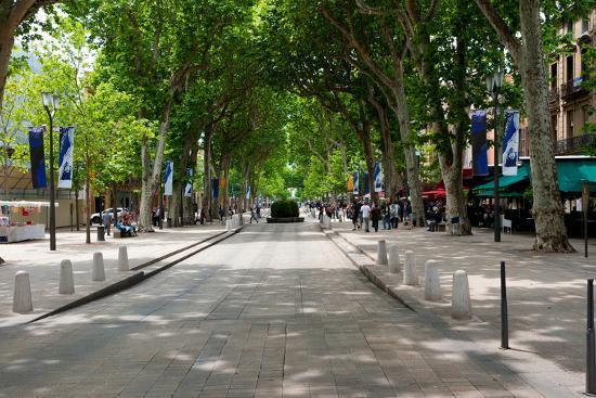 Cours Mirabeau, Aix-en-Provence, … - Bild kaufen
