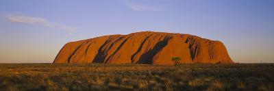 Rock Formations on a Landscape, Ayers Rock, Uluru-Kata Tjuta National Park, Northern Territory