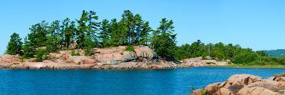 Trees on an Island, Red Island, Killarney, Ontario, Canada