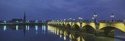 Pierre Bridge Bordeaux France