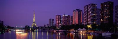 Evening Paris France