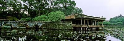 Xung Khiem Pavilion at Tomb of Emperor Tu Duc, Hue, Thua Thien-Hue Province, Vietnam