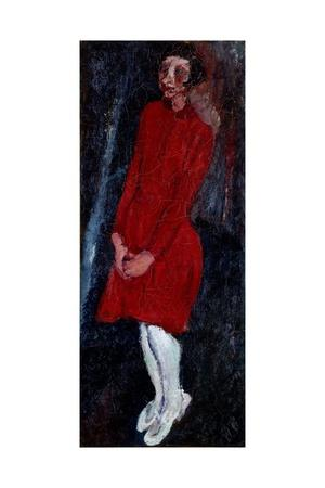 Young Girl in Red, 1928