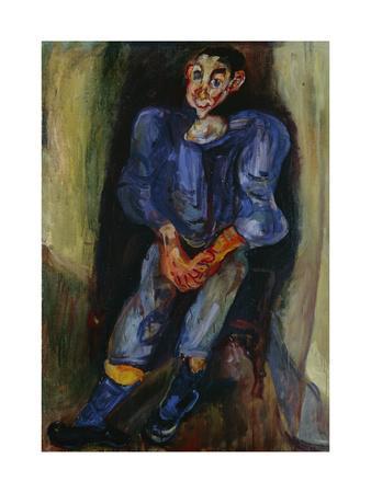 Boy in Blue, 1924