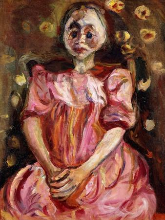 The Little Girl in Pink, La Petite Fille en Rose, 1923-1924