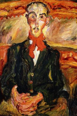 Man in Red Scarf, L'Homme au Foulard Rouge, C. 1921