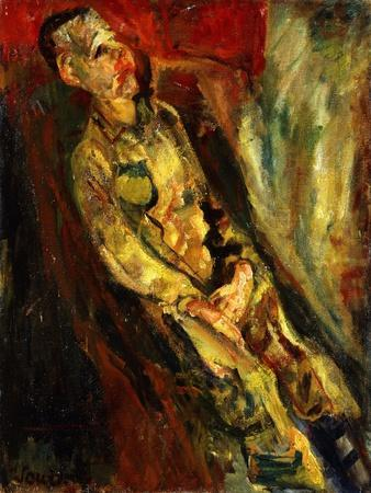 Man Sitting, Homme Assis, c. 1923