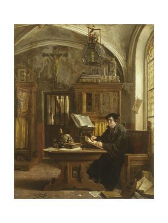 Martin Luther Translating the Bible, Wartburg Castle, 1521
