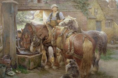 At the Village Pump