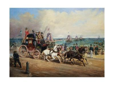 The Arrival of the Royal Mail, Brighton, England