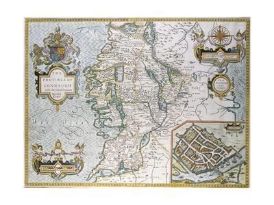 The Province of Connaugh Map
