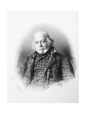 Pierre Jean De Beranger Engraving