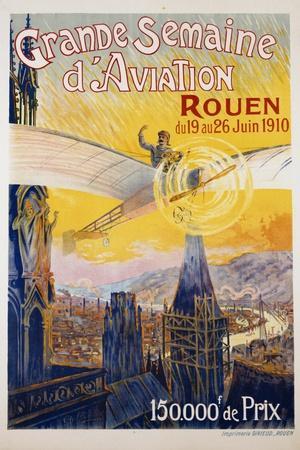 Grande Semaine D'Aviation Poster