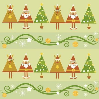 Christmas with Santa, Rudolph Trees
