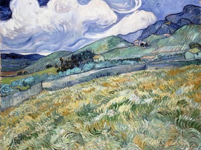 Landscape from Saint-Rémy