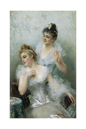 Lucky in Love by Vittorio Matteo Corcos