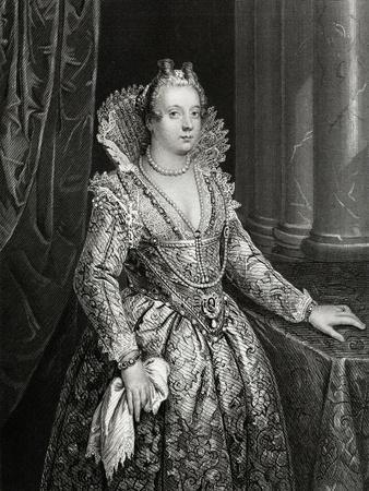 Marie De Medici Engraving