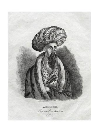 Achmet, Bey Von Constantine Illustration