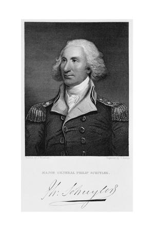 Major General Philip Schuyler