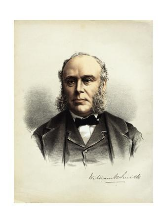 Engraved Portrait of William Smith