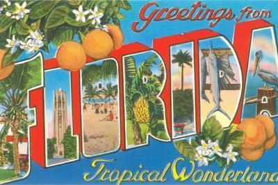 Greetings from Florida, Tropical Wonderland