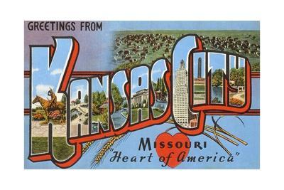 Greetings from Kansas City, Missouri, Heart of America