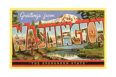 Greetings from Washington, the Evergreen State