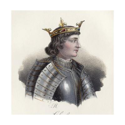 Portrait of Charles IV the Fair, King of France