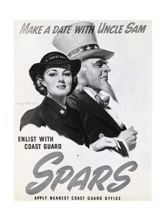 Spars Recruitment Poster
