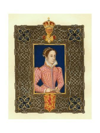 Portrait of Mary Stuart