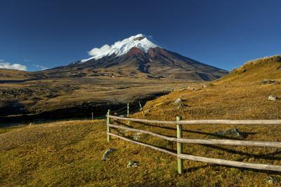 Cotopaxi National Park, Snow-Capped Cotopaxi Volcano