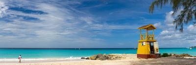 Caribbean, Barbados, Oistins, Miami Beach or Enterprise Beach, Lifeguard Lookout