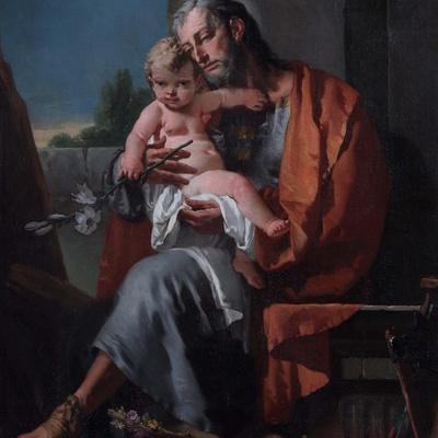 St. Joseph with the Child