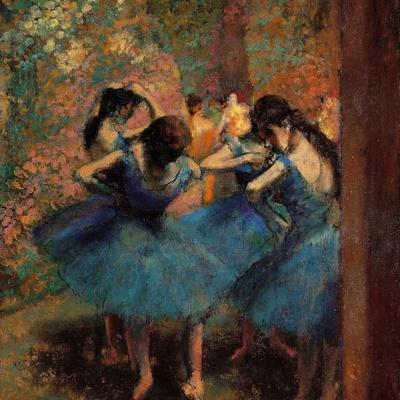 Dancers in Blue (Danseuses Bleues)
