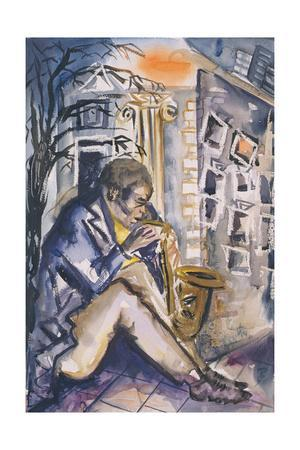 Sax Player, 1998