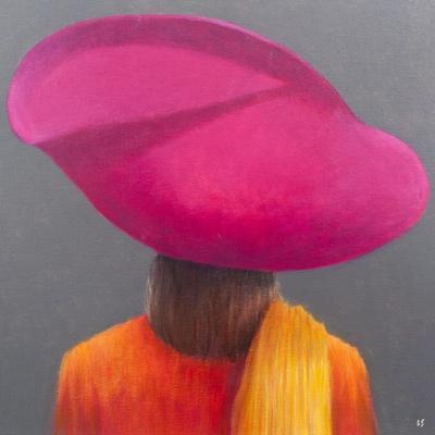 Magenta Hat, Saffron Jacket, 2014