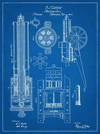 Machine Gun Patent